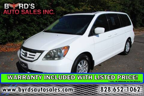 2008 Honda Odyssey for sale at Byrds Auto Sales in Marion NC