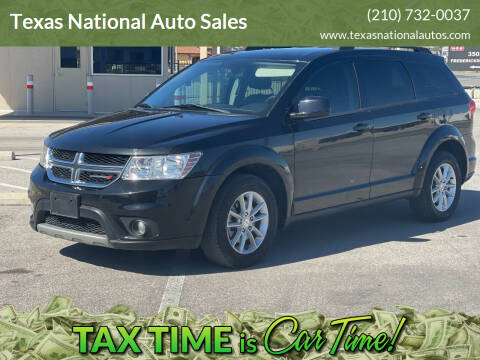 2013 Dodge Journey for sale at Texas National Auto Sales in San Antonio TX