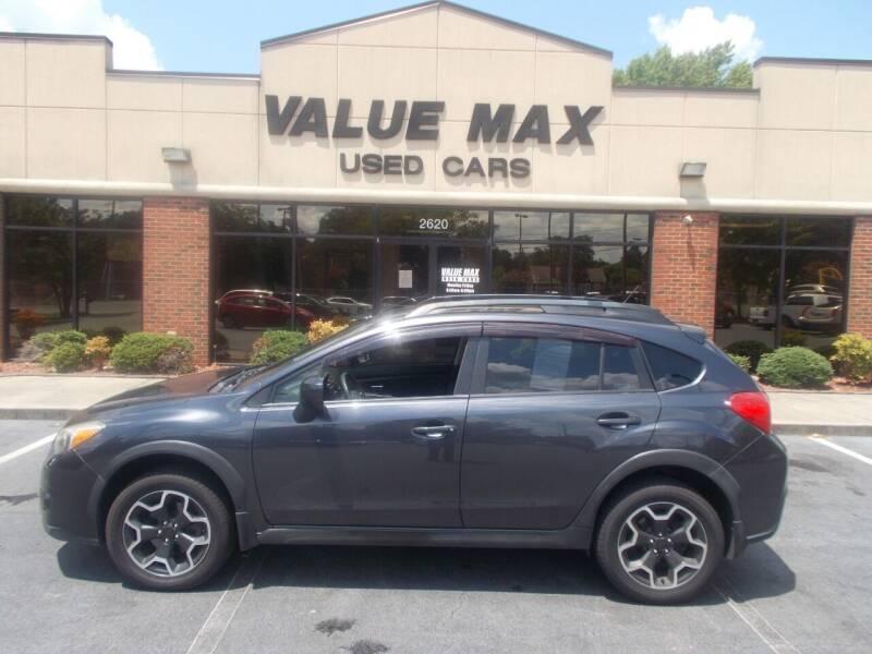 2013 Subaru XV Crosstrek for sale at ValueMax Used Cars in Greenville NC