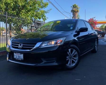 2015 Honda Accord for sale at LUGO AUTO GROUP in Sacramento CA