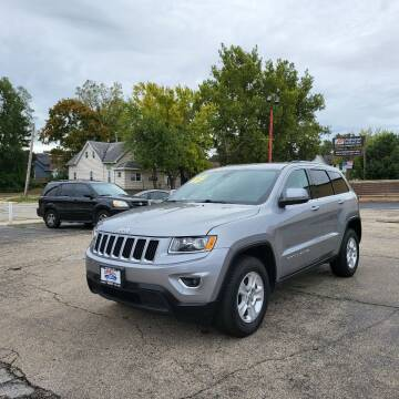 2015 Jeep Grand Cherokee for sale at Bibian Brothers Auto Sales & Service in Joliet IL