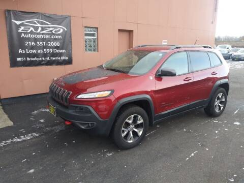 2014 Jeep Cherokee for sale at ENZO AUTO in Parma OH