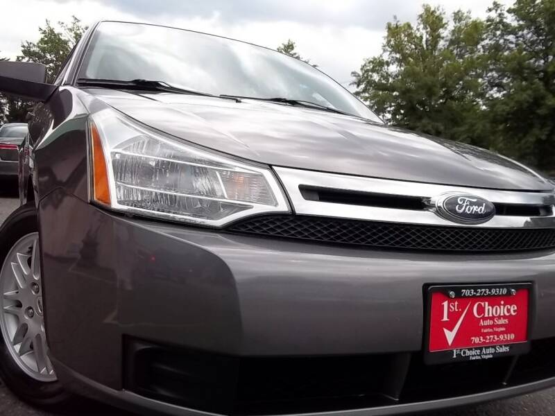 2010 Ford Focus for sale at 1st Choice Auto Sales in Fairfax VA