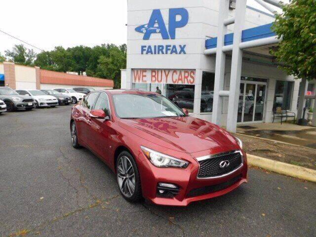 2015 Infiniti Q50 for sale at AP Fairfax in Fairfax VA