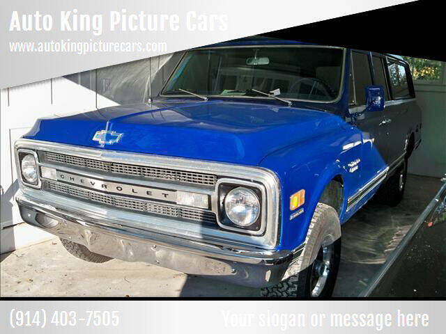 1969 Chevrolet Suburban for sale at Auto King Picture Cars - Rental in Westchester County NY