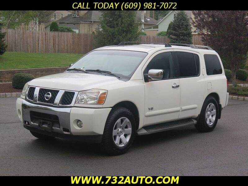 2005 Nissan Armada for sale at Absolute Auto Solutions in Hamilton NJ