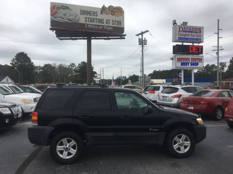 2006 Ford Escape Hybrid for sale at Deckers Auto Sales Inc in Fayetteville NC