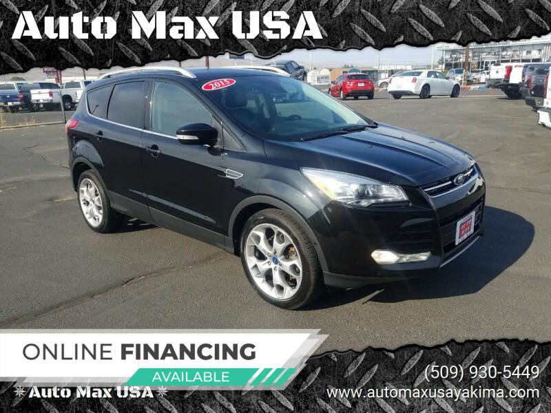 2015 Ford Escape for sale at Auto Max USA in Yakima WA