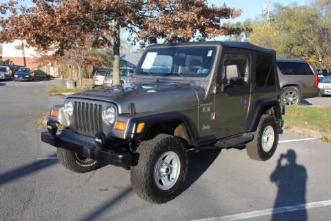2002 Jeep Wrangler for sale at Auto Bahn Motors in Winchester VA