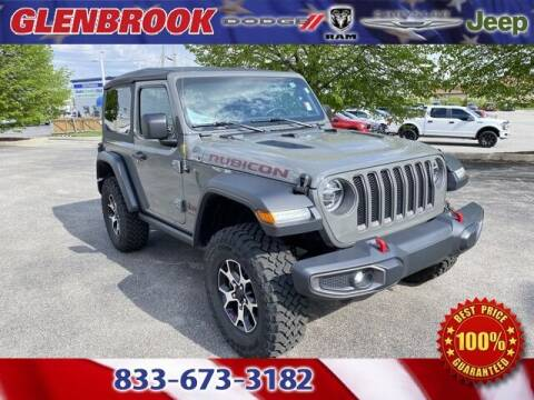 2020 Jeep Wrangler for sale at Glenbrook Dodge Chrysler Jeep Ram and Fiat in Fort Wayne IN