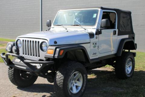 2004 Jeep Wrangler for sale at Great Lakes Classic Cars & Detail Shop in Hilton NY