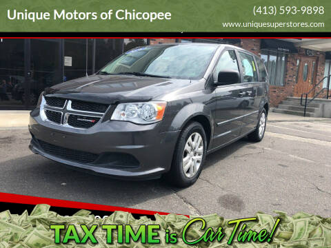 2016 Dodge Grand Caravan for sale at Unique Motors of Chicopee in Chicopee MA