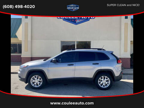 2016 Jeep Cherokee for sale at Coulee Auto in La Crosse WI