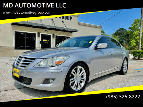 2011 Hyundai Genesis for sale at MD AUTOMOTIVE LLC in Slidell LA