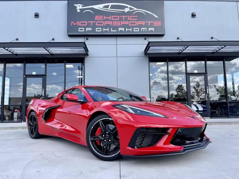 2021 Chevrolet Corvette for sale at Exotic Motorsports of Oklahoma in Edmond OK