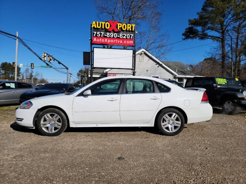 2012 Chevrolet Impala for sale at Autoxport in Newport News VA