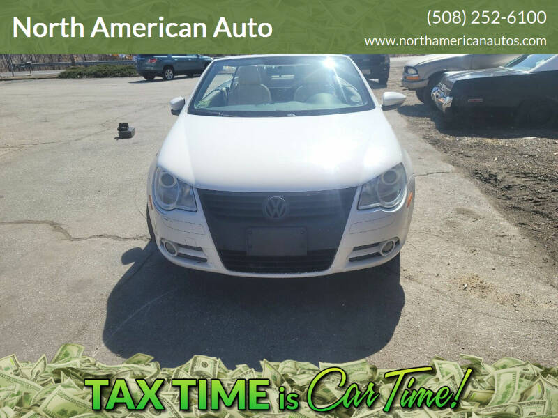 2009 Volkswagen Eos for sale at North American Auto in Rehoboth MA