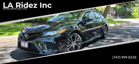 2018 Toyota Camry for sale at LA Ridez Inc in North Hollywood CA