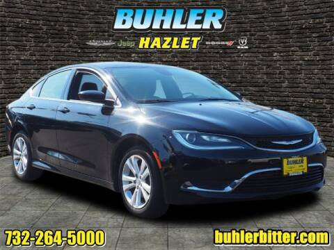 2015 Chrysler 200 for sale at Buhler and Bitter Chrysler Jeep in Hazlet NJ