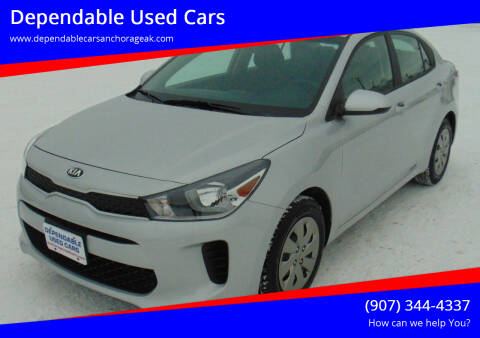 2020 Kia Rio for sale at Dependable Used Cars in Anchorage AK