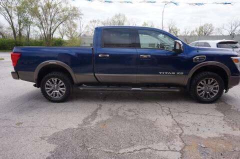2016 Nissan Titan XD for sale at patrick kelley in Bonner Springs KS