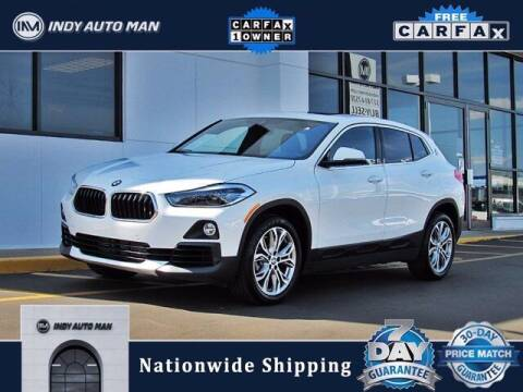 2020 BMW X2 for sale at INDY AUTO MAN in Indianapolis IN