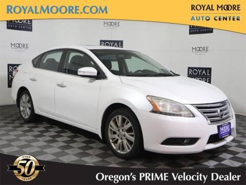 2013 Nissan Sentra for sale at Royal Moore Custom Finance in Hillsboro OR
