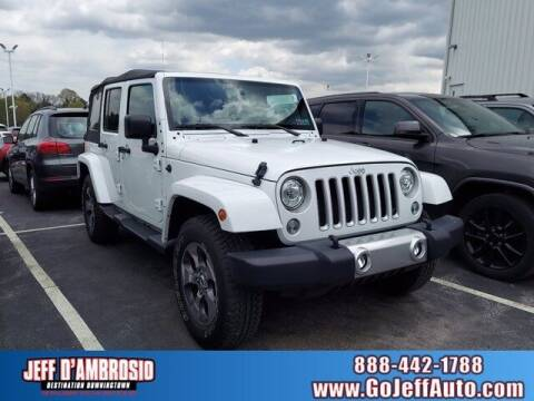 2018 Jeep Wrangler JK Unlimited for sale at Jeff D'Ambrosio Auto Group in Downingtown PA