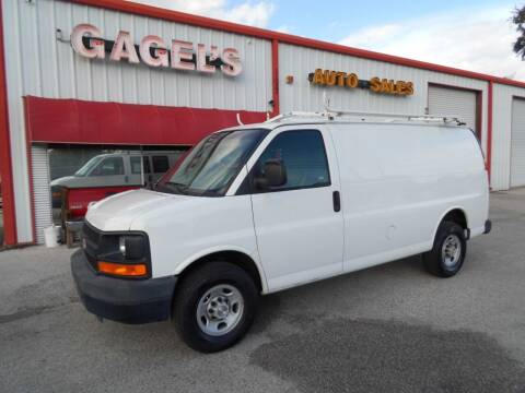 2009 Chevrolet Express Cargo for sale at Gagel's Auto Sales in Gibsonton FL