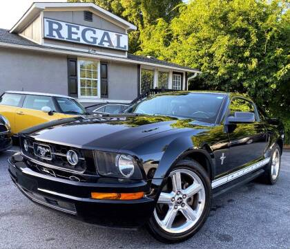 2008 Ford Mustang for sale at Regal Auto Sales in Marietta GA