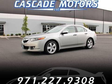 2009 Acura TSX for sale at Cascade Motors in Portland OR