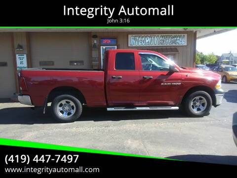 2012 RAM Ram Pickup 1500 for sale at Integrity Automall in Tiffin OH