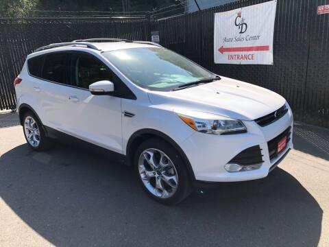 2013 Ford Escape for sale at C&D Auto Sales Center in Kent WA