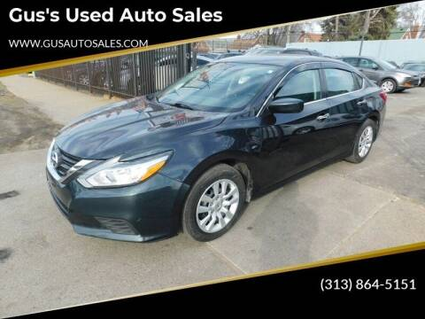 2016 Nissan Altima for sale at Gus's Used Auto Sales in Detroit MI