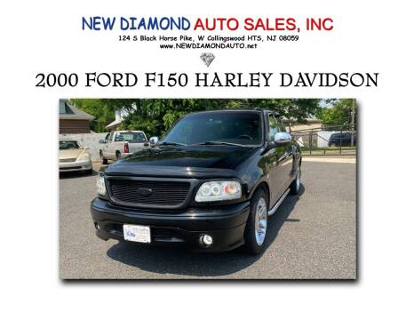 2000 Ford F-150 for sale at New Diamond Auto Sales, INC in West Collingswood Heights NJ
