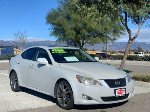 2008 Lexus IS 250 for sale at Esquivel Auto Depot in Rialto CA