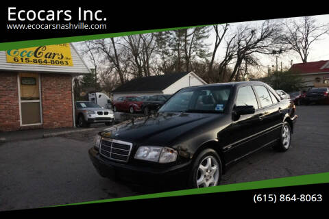 1998 Mercedes-Benz C-Class for sale at Ecocars Inc. in Nashville TN