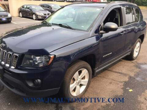 2014 Jeep Compass for sale at J & M Automotive in Naugatuck CT