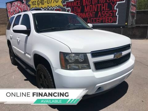 2007 Chevrolet Tahoe for sale at Rock Star Auto Sales in Las Vegas NV