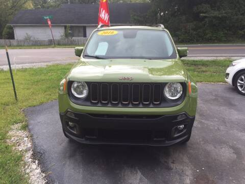 2016 Jeep Renegade for sale at Johnson Car Company llc in Crown Point IN
