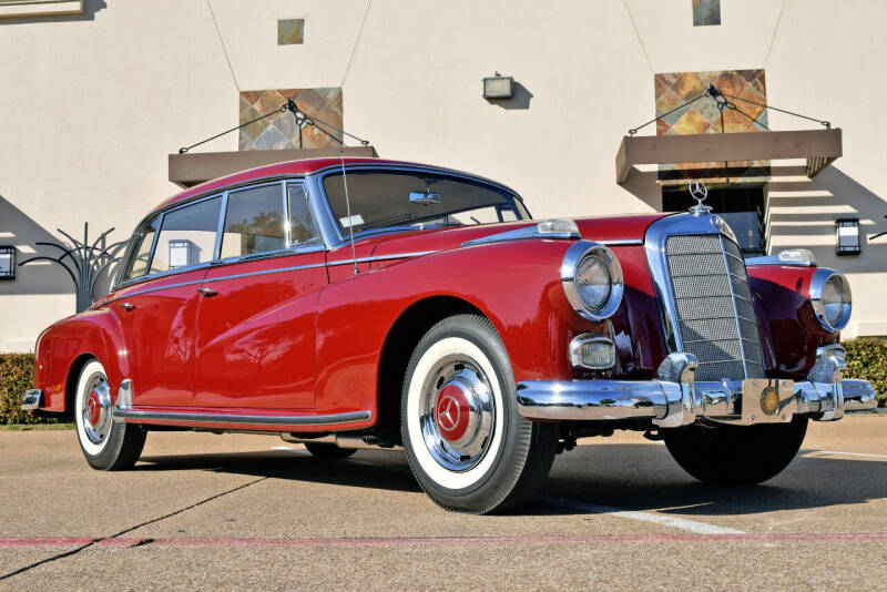 1959 Mercedes-Benz 300-Class 300d Adenuer for sale at European Motor Cars LTD in Fort Worth TX