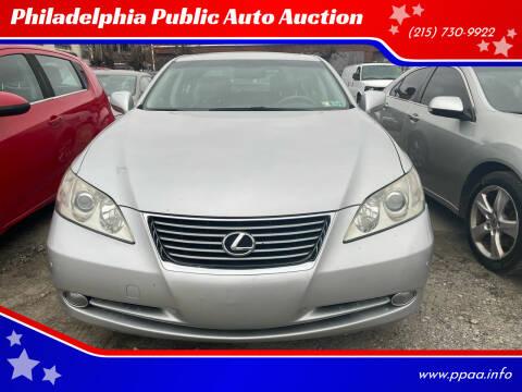 2007 Lexus ES 350 for sale at Philadelphia Public Auto Auction in Philadelphia PA