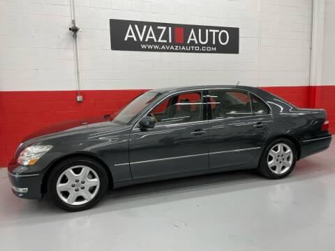 2004 Lexus LS 430 for sale at AVAZI AUTO GROUP LLC in Gaithersburg MD