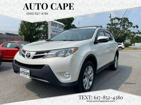 2013 Toyota RAV4 for sale at Auto Cape in Hyannis MA
