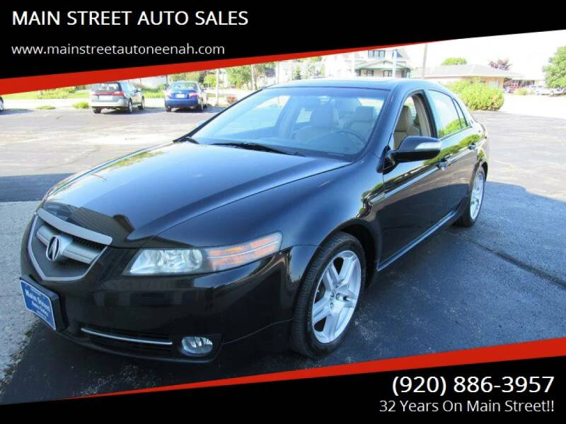 2007 Acura TL for sale at MAIN STREET AUTO SALES in Neenah WI