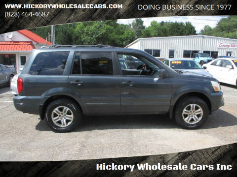 2004 Honda Pilot for sale at Hickory Wholesale Cars Inc in Newton NC