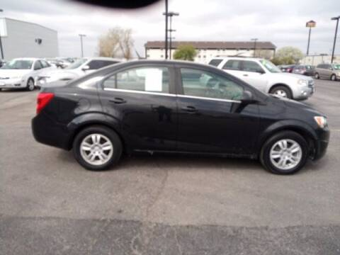 2013 Chevrolet Sonic for sale at Automart 150 in Council Bluffs IA