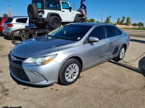 2017 Toyota Camry for sale at A AND A AUTO SALES in Gadsden AZ