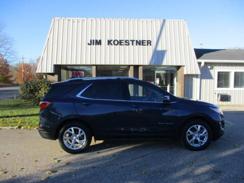 2018 Chevrolet Equinox for sale at JIM KOESTNER INC in Plainwell MI