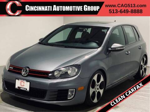 2011 Volkswagen GTI for sale at Cincinnati Automotive Group in Lebanon OH